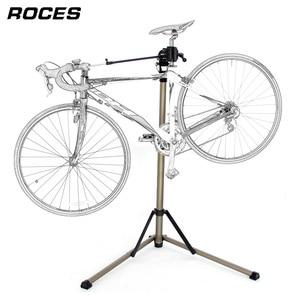 Image 2 - Support de réparation de vélo professionnel et pliable en alliage daluminium, support de travail réglable pour mécaniciens à domicile et entretien