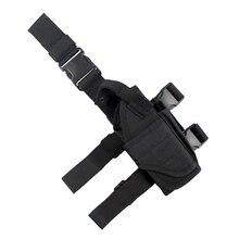 Taktik Evrensel Bırak Bacak Kılıf silah kılıfı çanta Ayarlanabilir Uyluk Tabanca gun Kılıf için Sağ Handed