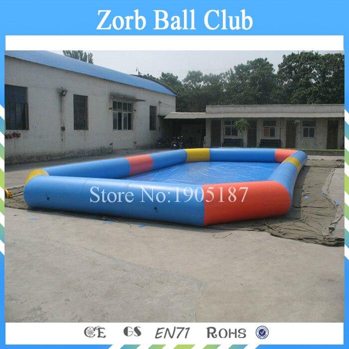 Бесплатная доставка 12x6 м Сертифицированный прочный детей и взрослых большой надувной Бассейны, Intex Бассейны s