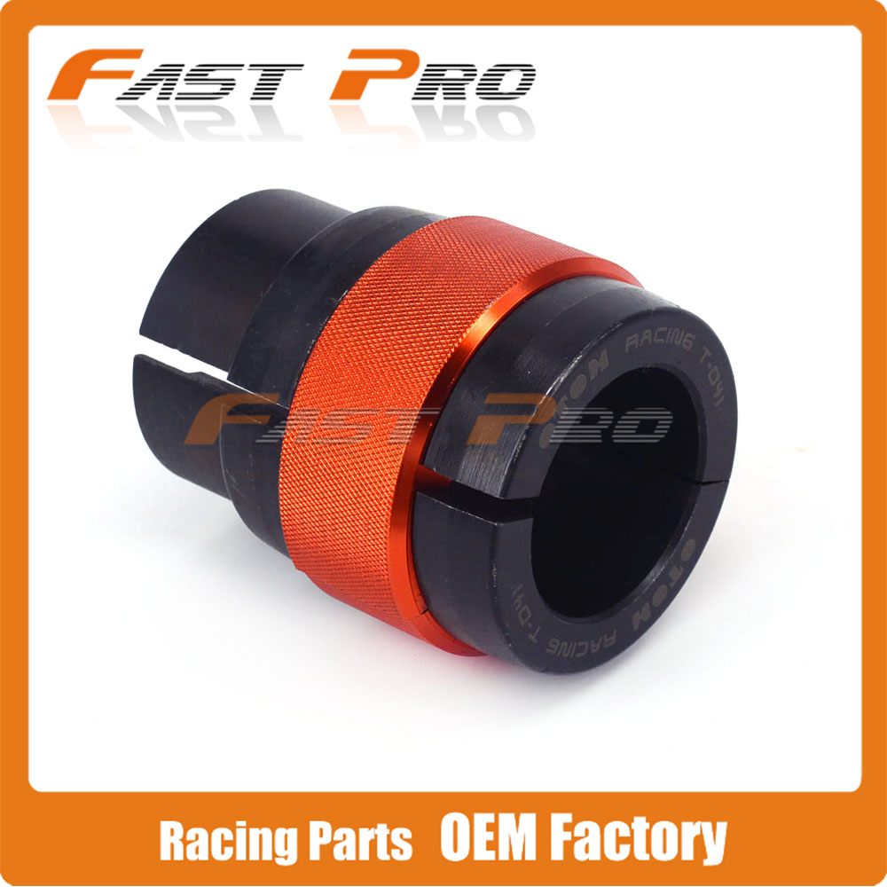 Motorcycle CNC 41mm Ringer Tool Oil Seal Bushing Driver Install For Front Shock Absorber Fork ZX636 ZZR600 CB400F CBR600RR GSXR