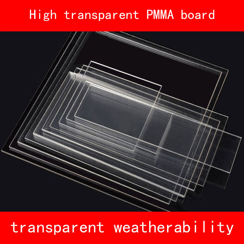 """200MM TO 300MM 12/"""" LENGTHS OF CLEAR ACRYLIC PERSPEX PMMA TUBE MULTI LISTING"""