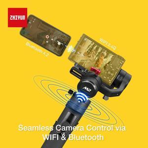 Image 5 - Zhiyun Crane M2 3 Trục Gimbal Bộ Ổn Định Cho Máy Ảnh Mirrorless Camera Điện Thoại Thông Minh, Hành Động Cam, nhanh Chóng Tắt/Mở, 360 ° Xoay