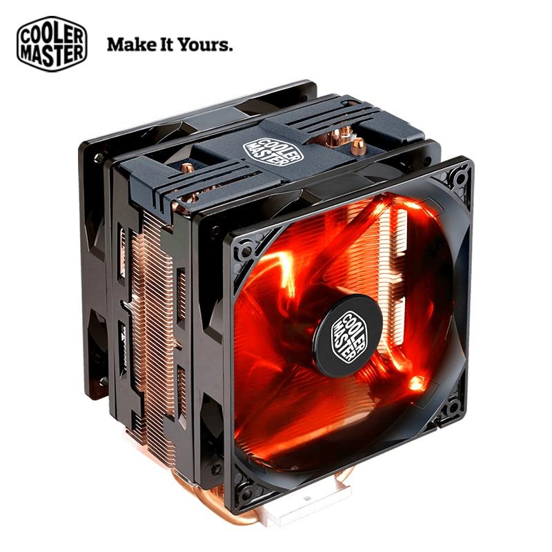 Cooler Master T400 Pro Computer CPU Cooler Dual 120mm fans LGA 2011 1150 1151 AMD AM4 Quiet Desktop PC CPU cooling radiator fan цена и фото