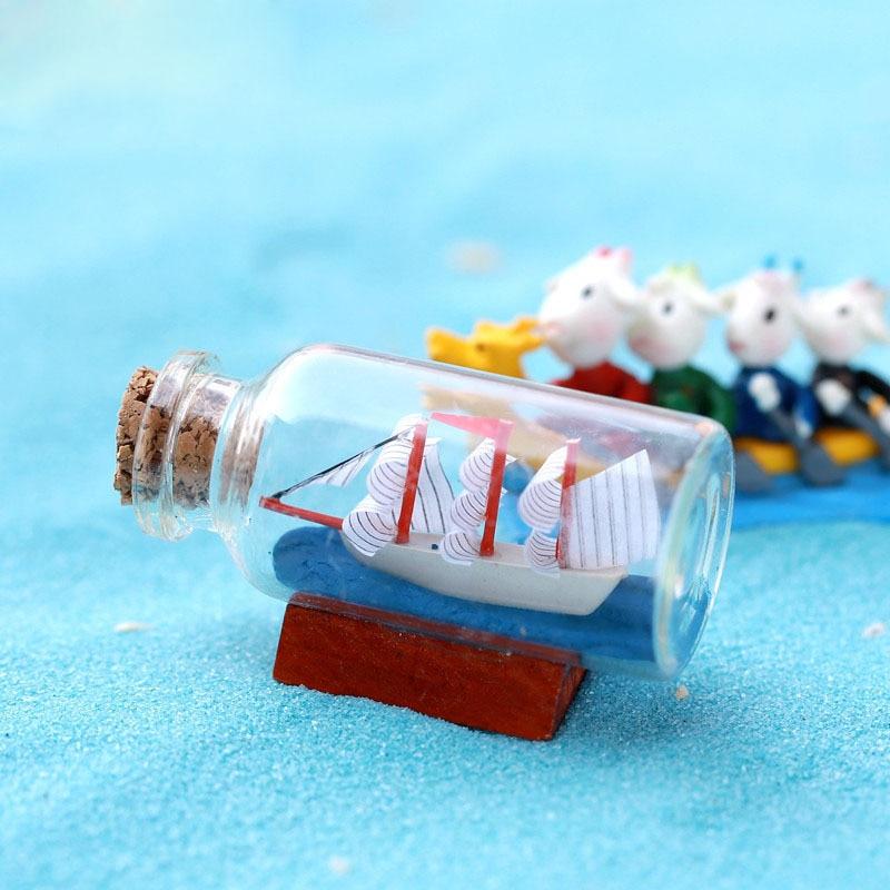 10 DIY Mini Miniature Fairy Garden Ornament Decor Water Bottles Crafts Resin