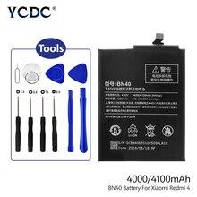 2019 Lithium 100% Brand New ! Lithium Battery BN40 BN-40 BN 40 For Xiaomi Redmi 4 Pro Replacement+Repair Tools 4100mAh maruto 8210 bn 2 carp pro 8 шт карпов