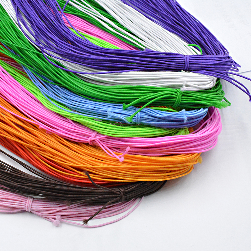 NEW 0.8MM Choice 12 Colors Stretchy Elastic Rope String Line Cord Beading Beads DIY For Jewelry Making Bracelet&Necklace
