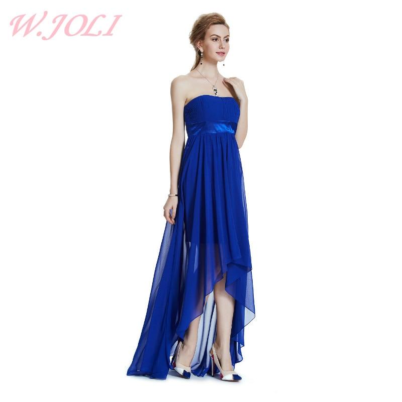 W.JOLI Long Evening Dresses 2017 Vestido De Festa Brude Bankett - Spesielle anledninger kjoler - Bilde 1