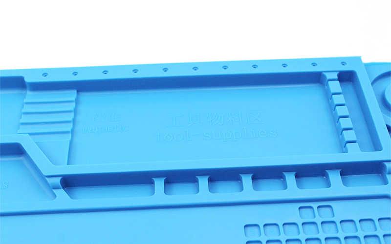 ESD Panas Kerja Isolasi Tikar Tahan Panas BGA Soldering Stasiun Perbaikan Insulation Pad Isolator Pad Pemeliharaan Platform