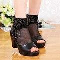 Frete Grátis confortáveis sandálias Bohemian Wedge Mulheres para sapatas Da Senhora e Chinelo alta cunha flip flops Da Gota EU34-40 01
