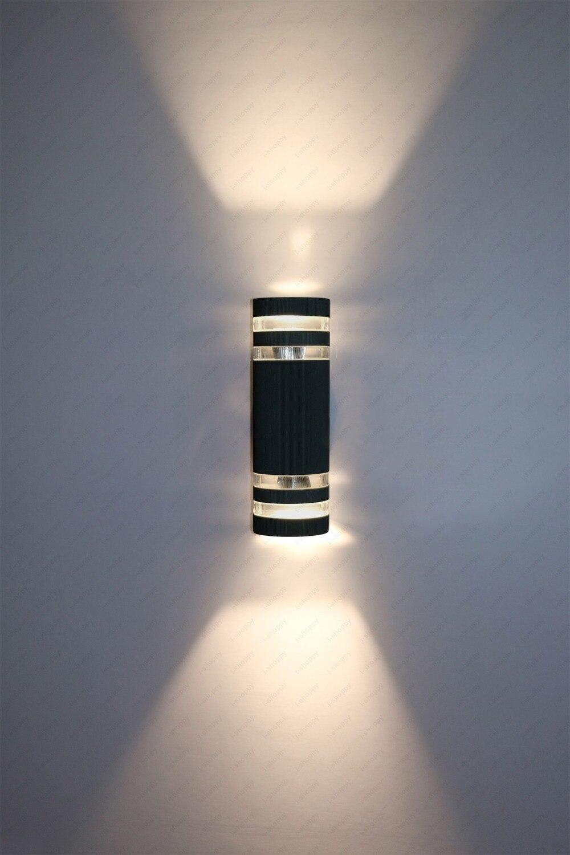 WWWWLEDOutdoorUpDownLightWallSconcesDoorPatioBasement LampFixturejpg - Basement light fixture