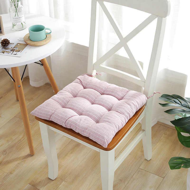 LGOLOL2019 японский плед Подушка для стула утолщенная офисная Студенческая Подушка для стула 4 цвета дополнительно татами сидение с подушкой коврик бесплатная доставка