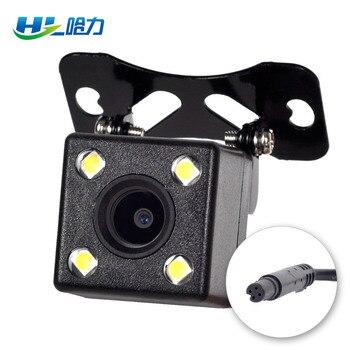 5-pin cámara de visión trasera para coche Dvr espejo 4-pin Cámara inversa 2,5mm Jack 6 metros de visión nocturna