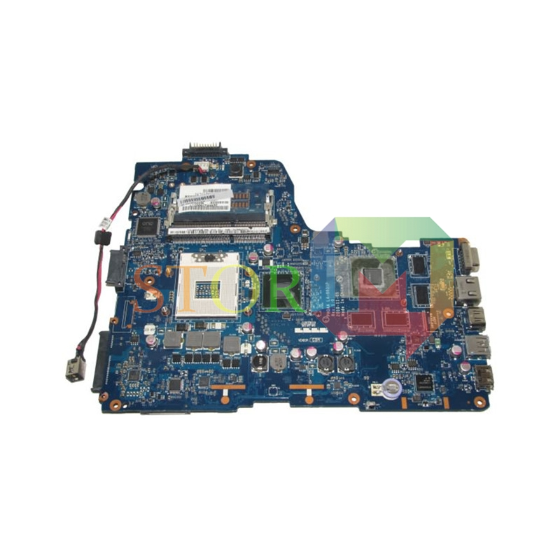 NOKOTION for toshiba satellite laptop motherboard A665 K000125700 LA-6831P HM65 DDR3 Working k000125660 la 6831p a660 a665 motherboard tested by system