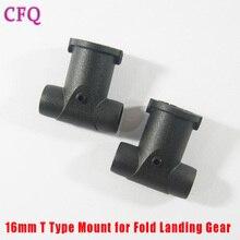 16 мм t Тип Mount Таро углеродные трубки 16 мм для раза Шасси Для Таро 650 складные 680 углеродное волокно RC drone DIY Kit