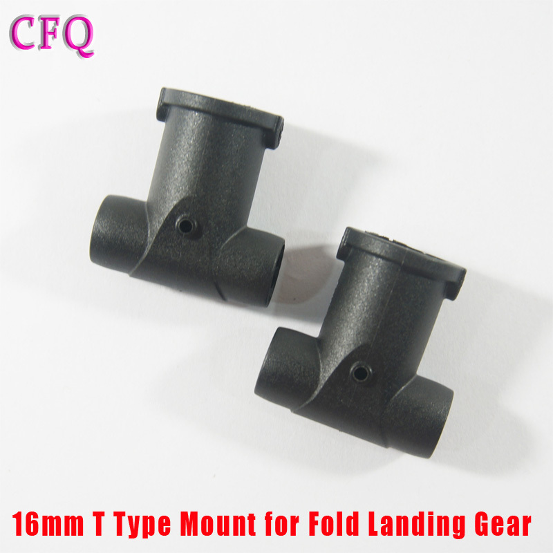 16mm T Type Mount TAROT carbon tube 16mm for Fold Landing Gear for Tarot 650 680 Foldable carbon fiber RC Drone Diy Kit