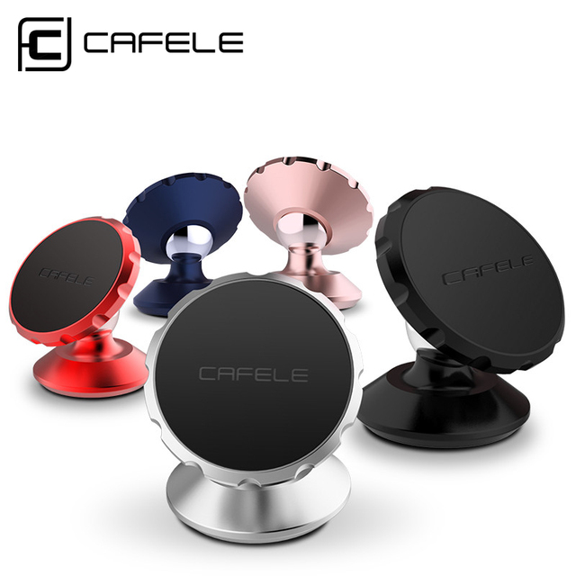 Rotating Magnetic Car  Mobile Phone Holder Stand For Iphone 6S Samsung S8 360