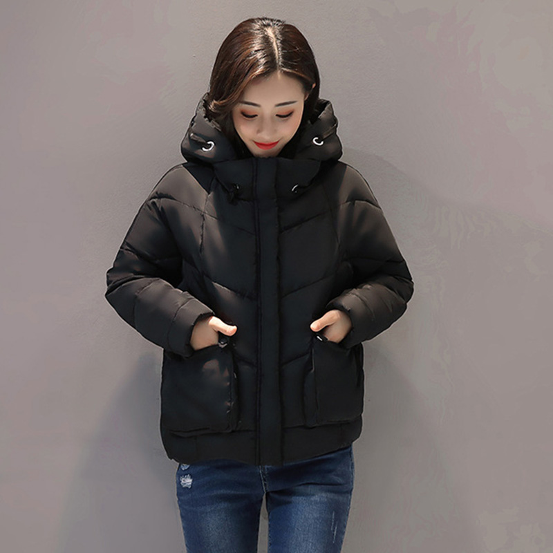 Warm Winter   Basic     Jacket   Women Loose Winter Parkas Female Thick Hooded Womens Winter   Jackets   and Coats Tops