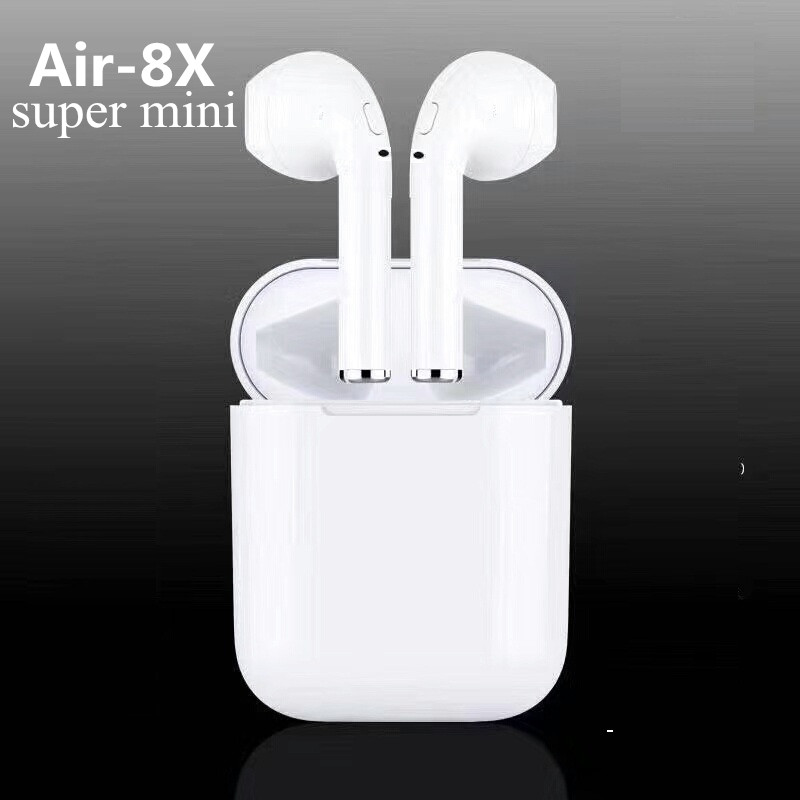 2018 New TWS-I7S Wireless Earbuds Mini Bluetooth bluetooth earphone not Air pods headsets for apple iphone android remax 2 in1 mini bluetooth 4 0 headphones usb car charger dock wireless car headset bluetooth earphone for iphone 7 6s android