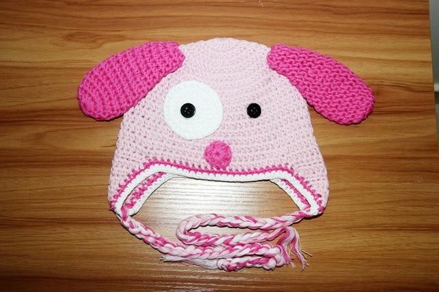 a5ad71a829614 Meninas Crochê Chapéu Protetores de orelha