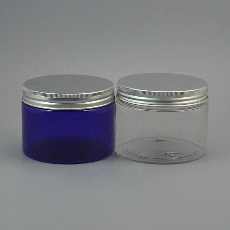 Frasco do animal de estima o de 20 pces recipiente pl stico redondo de 350g com