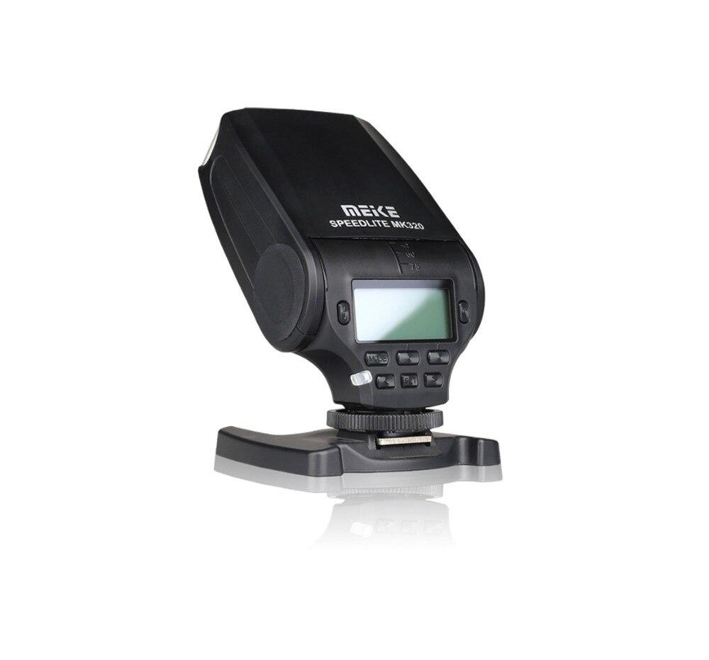 MEIKE MK320 Mini Flash TTL Flash Speedlite pour Panasonic Lumix DMC GF7 GM5 GH4 GM1 GX7 G6 GF6 GH3 G5 GF5 GX1 GF3 G3