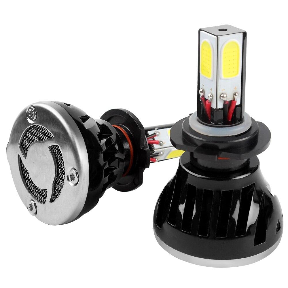 ФОТО G5 H7 LED Headlight H1 H3 H4 H11 HB4 Car Head Light Light Source Lamp With Fan Pure White Automobile 80W 6000K #iCarmo
