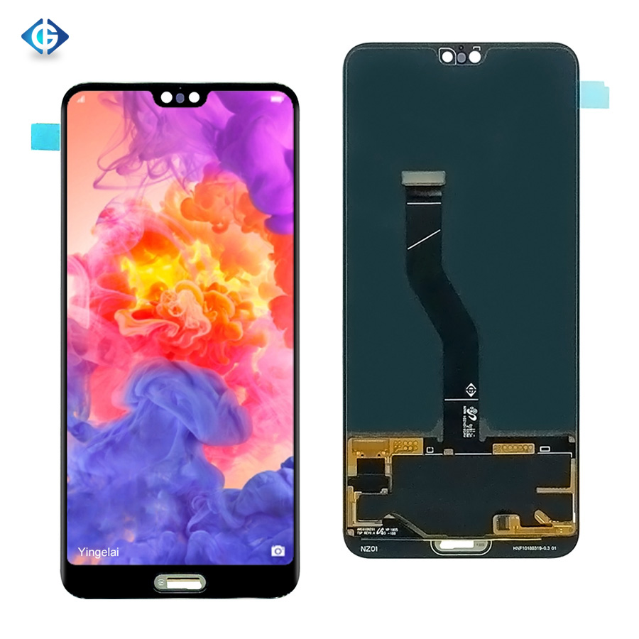Digitizer Huawei Assembly-Screen Lcd-Display for P20pro Complete 20pcs DHL