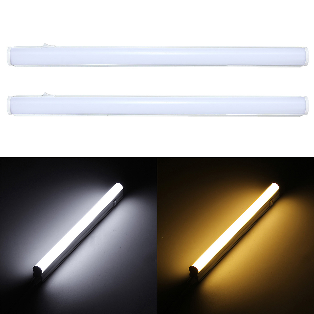 1pc/lot LED Bulbs Tubes Integrated Tube Light T5 30cm 5W LED tubes AC85-265V SMD2835 Lighting 440lm LED Fluorescent tubes 2pcs set t5 led light tube ac85 265v 2 5w wall lamps 1ft led t5 tube fluorescent lamp lights connect cord power switch cable