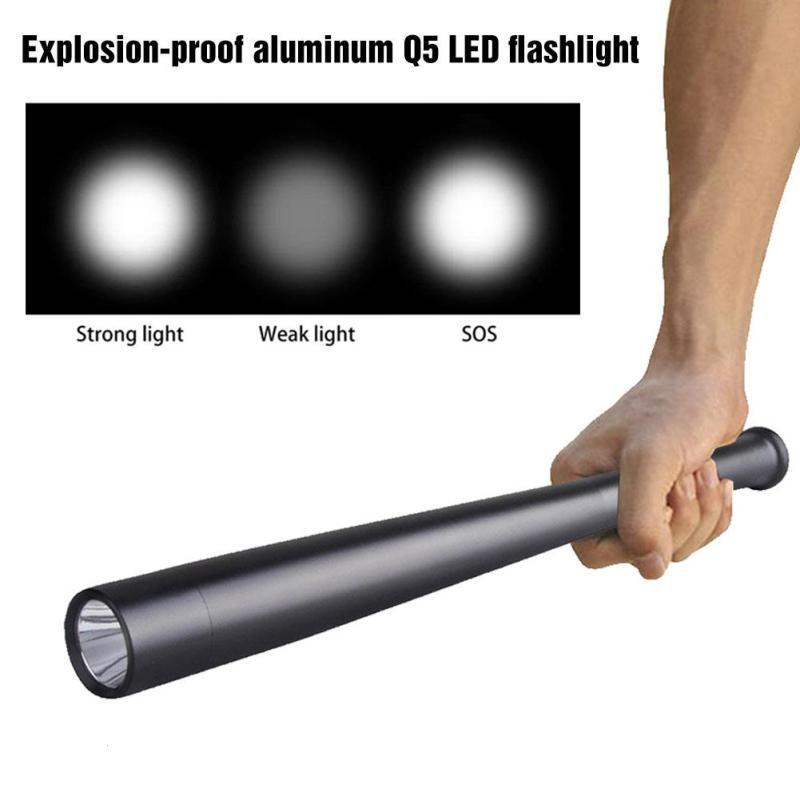 Explosion-proof aluminum Q5 LED flashlight anti-wolf Outdoor equipment supplies Outdoor self-defense security flashlight