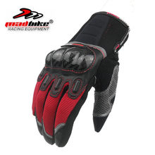 Newest touch screen motorcycle gloves motos motocross luvas motorbike moto motocicleta carbon protection M~ XXL(China)