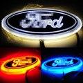1 шт. 4D Привело Задние Эмблемы Автомобиля Логотип Свет для Ford Focus Mondeo Автомобильные Светодиодные Знак Лампа Автомобилей Стайлинг
