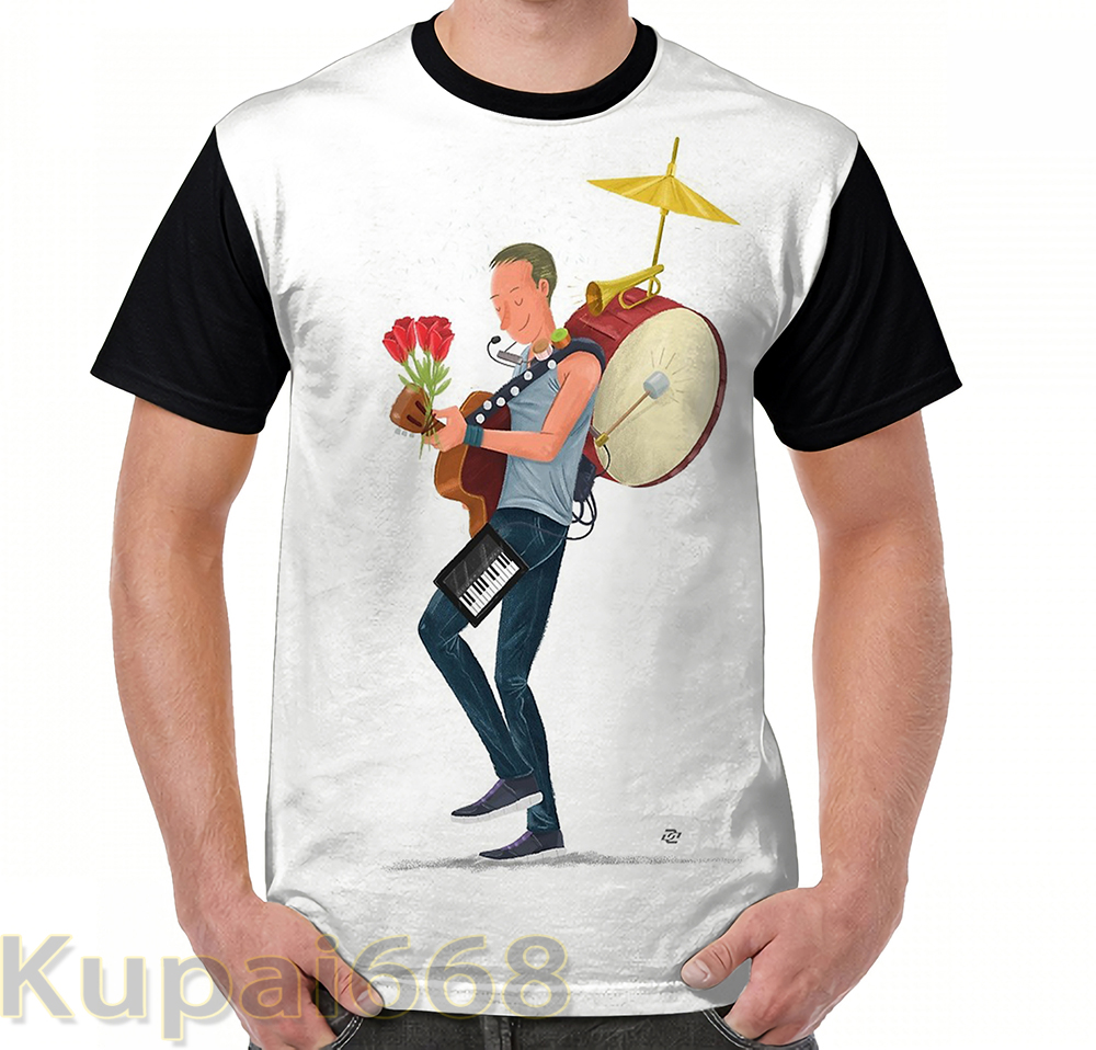 funny Graphic print t shirt men Tops tees A Sky full of stars women T-Shirt Short Sleeve Casual tshirts
