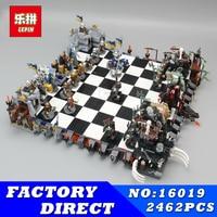 Lepin 16019 Genuine Movie Series The Castle Giant Chess Set 2462 Building Blocks Bricks Educational Toys As children dream of