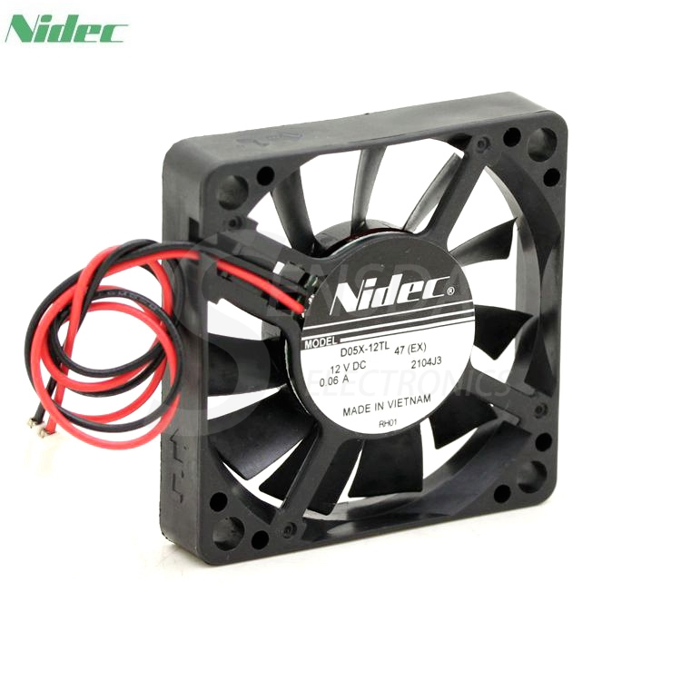 D'origine NIDEC D05X-12TL DC 12 V 0.06A 5010 5 CM 50mm Super silencieux ventilateurs silencieux