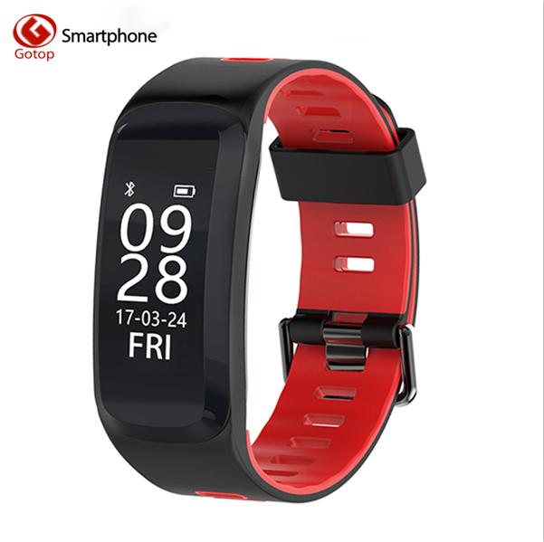 Diggro F4 Smart Bracelet Bt 4.0 IP68 Heart Rate Blood pressure Oxygen Monitor Pedometer Outdoor Band for Android IOS