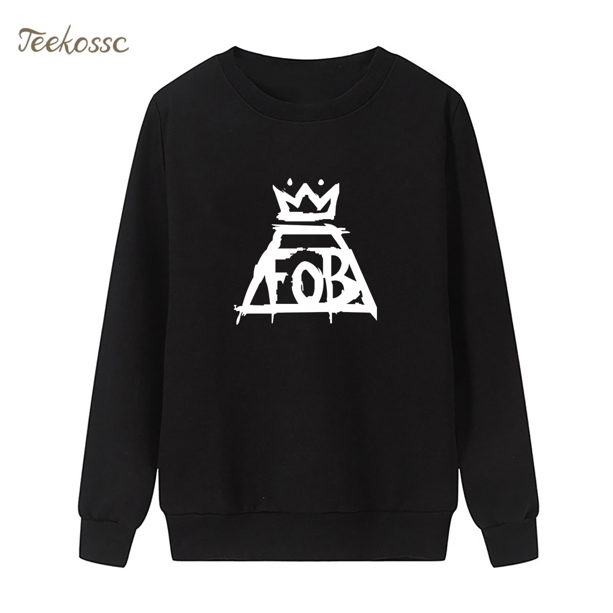 Music Band Sweatshirt Punk Rock Print Hoodie 2018 New Winter Autumn Women Lasdies Pullover Loose Fleece Hip Hop Brand Streetwear