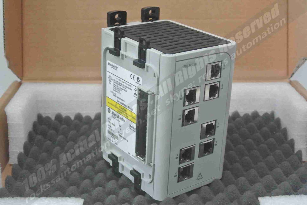 Brand New Stratix 8000 Ethernet Managed Switeh 1783-MX08T SER:A PN-16211 With Free DHL / EMS cybex 16211
