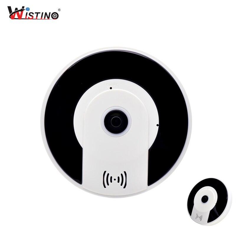 Wistino CCTV WIFI Security Camera Fisheye HD 960P Wireless IP Camera Panoramic Baby Monitor 360 Degree Video Camera Surveillance цена