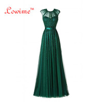 Sexy Dài Emerald Xanh Pha Lê Evening Formal Prom Dress Galajurk Thổ Nhĩ Kỳ Arabic Evening Gowns Dresses Abendkleider 2018