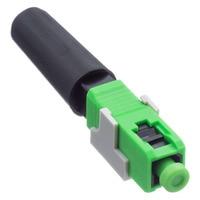 100PCS FTTH SC APC fiber optic quick connector SC APC Fiber Optic Fast Connector