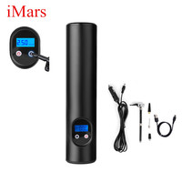 iMars General Car Wireless Tyre Inflator Air Tire Pump Digital Display Charger Air Compressor For Motorcycle Bicycle Ball Toy