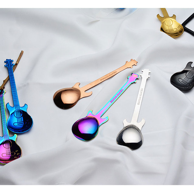 Dessert Stainless Steel Spoons 4 pcs Set