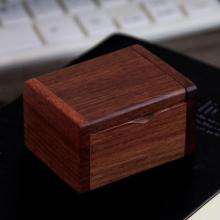 6x4x3.5cm rectangle wood ring box necklace storage home decoration gift jewelry