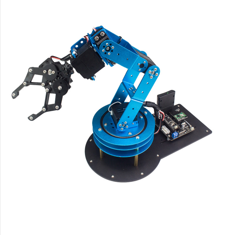 6 degrees of freedom mechanical arm/serial bus steering machine arm xArm/Scratch/Arduino programming six degrees of freedom robotic arm with a rotating three dimensional structure of the full metal base stand