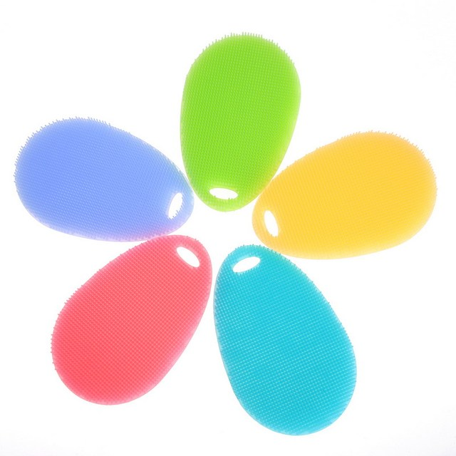 Kitchen Multifunction Cleaning Silicone Brushes
