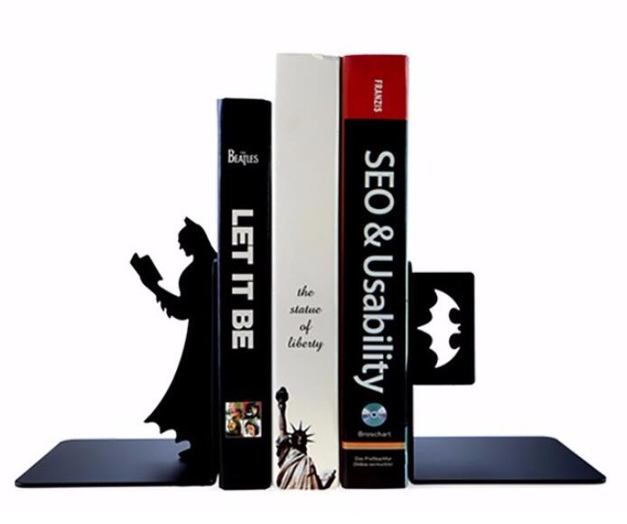 decoration Brief office Book clips by creative book simplicity of the Batman Tabletop stand Wedding dies home accessories