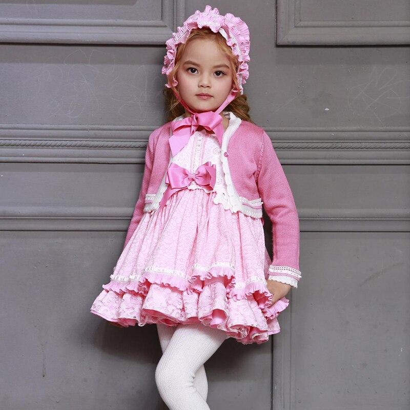 2019 Новое Детское платье, красивое платье принцессы в испанском стиле, юбка американка для девочек, платье на день рождения