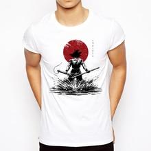 2018 Summer Anime T shirt Men s Dragon Ball Z Pure of Heart Warrior T shirt