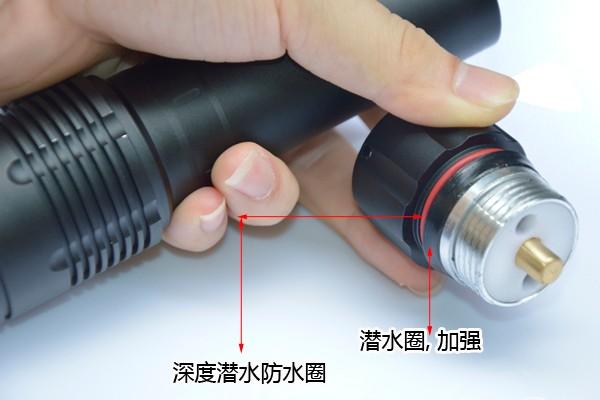 DV21 L2 LED diving flashlight (5)