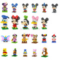 Mickey minny 7.5-8.5 cm acción mini 3d ladrillos bloques loz diamond building blocks juguetes/los juguetes educativos de aprendizaje